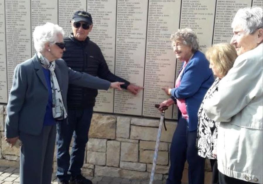 On 77th Anniversary of SS St. Louis, Passengers Honor Their Savior at Yad Vashem
