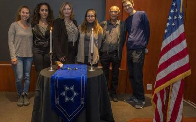 Passengers of the SS St. Louis are Remembered at Annual Kristallnacht Commemoration