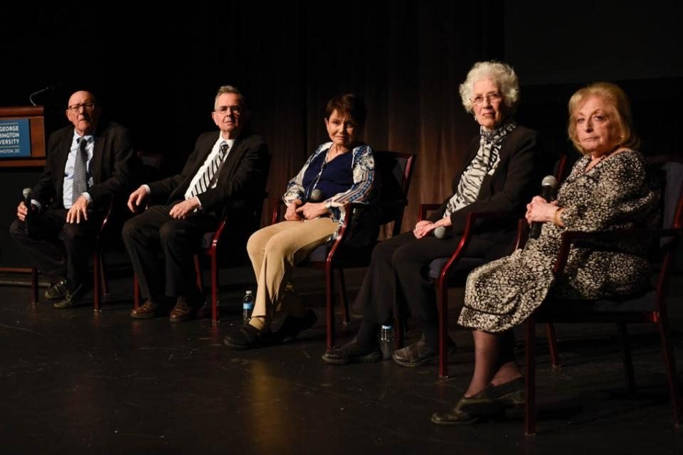 GW Event Commemorates the Liberation of Auschwitz Birkenau